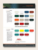 roll up door color chart